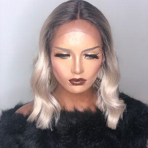 ZO| BLONDE STRAIGHT LACE FRONT WIG
